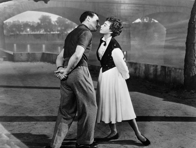 Gene-Kelly-and-Leslie-Caron-in-An-American-In-Paris-1951-MGM.
